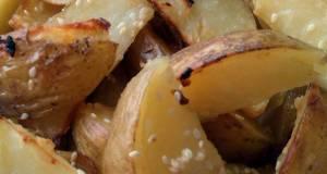 Vickys Garlic and Sesame Potato Wedges GF DF EF SF NF