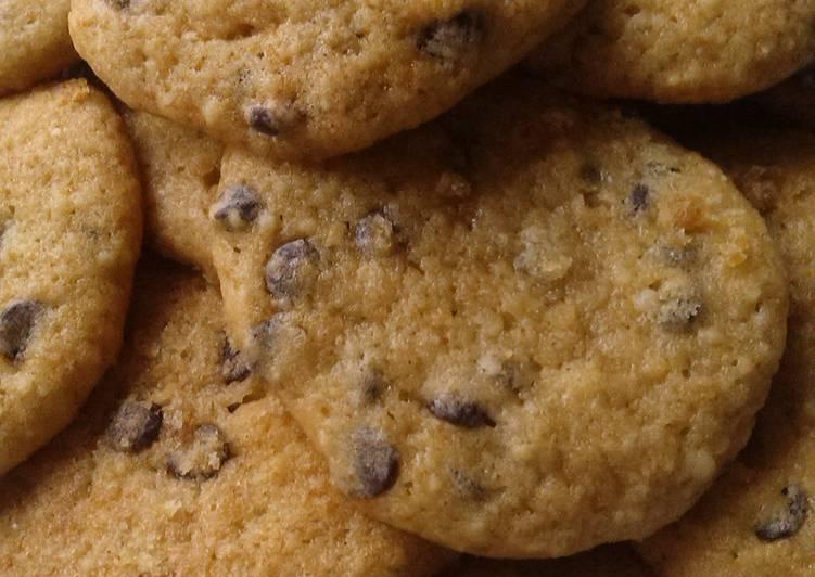 Vickys Banana Choc Chip Cookies GF DF EF SF NF