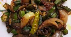LadyFinger Onion Fry Bhindi Do Pyaza