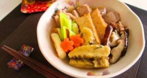 Braised Chicken and Raw Gluten with Thick Ginger Sauce