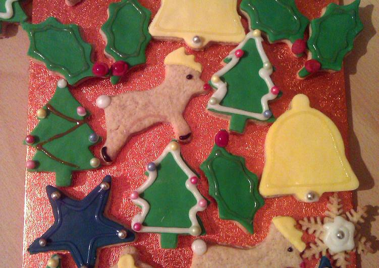 Vickys Spiced n Iced Christmas Cookies