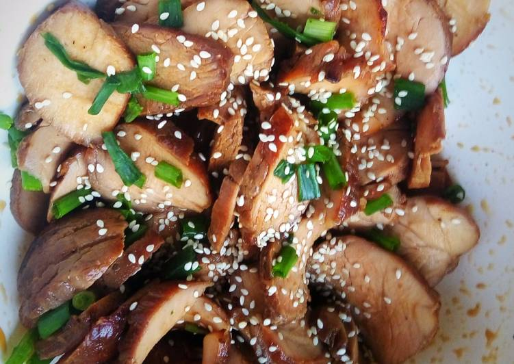 Lean Sweet Teriyaki Pork