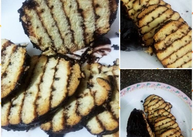 No bake choco layers biscuit cake(Eid special)