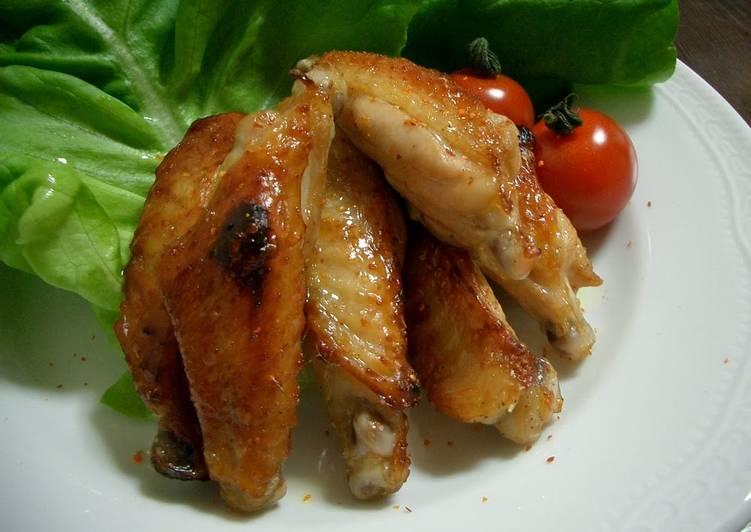 Easy Ponzu Chicken Wings