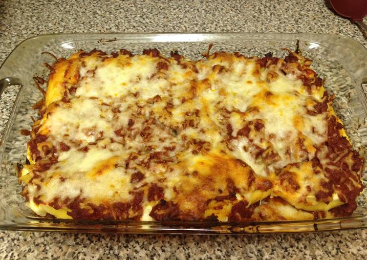 Yummy Stuffed Shells With Ground Beef