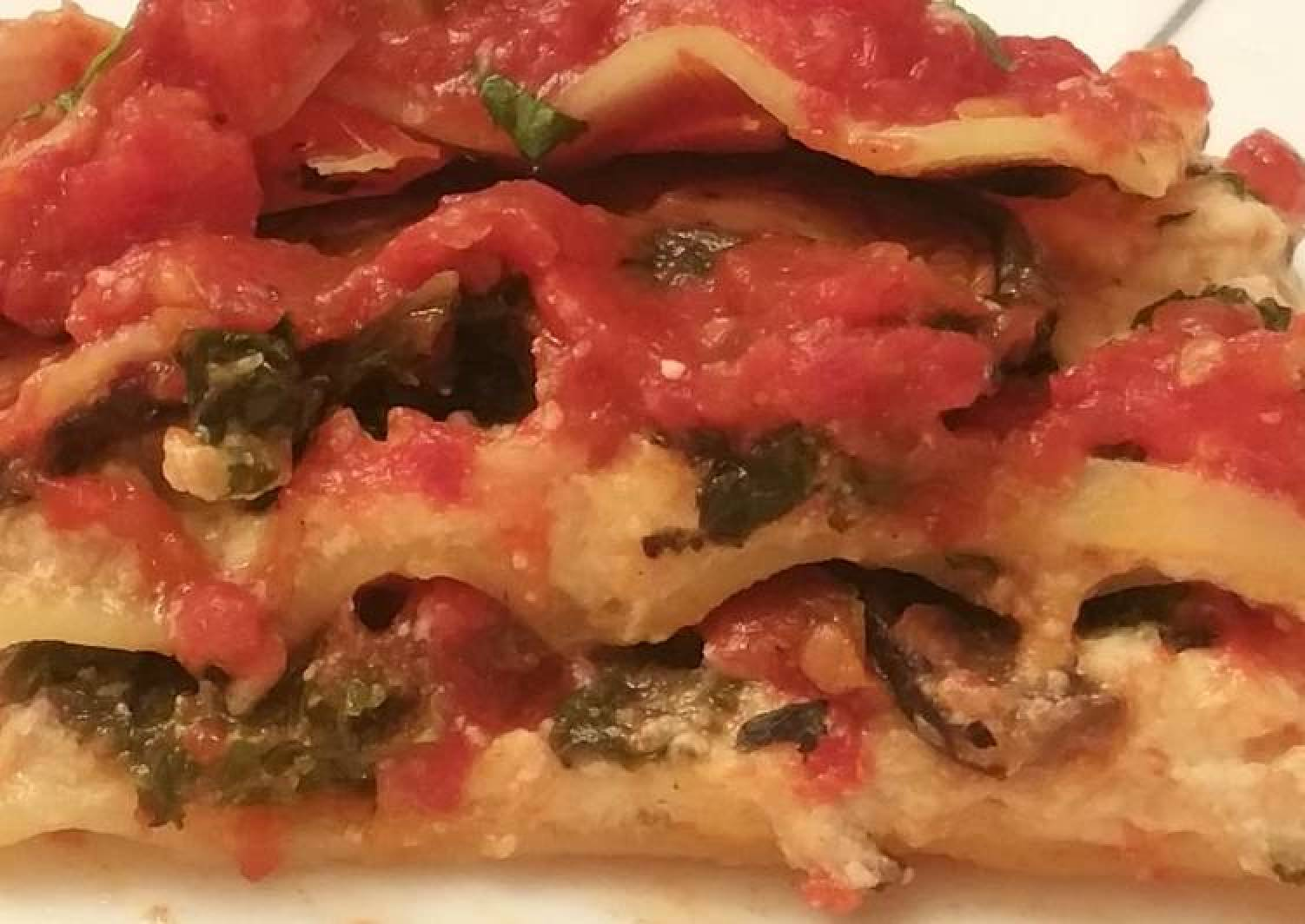 Kale and Portobello Lasagna