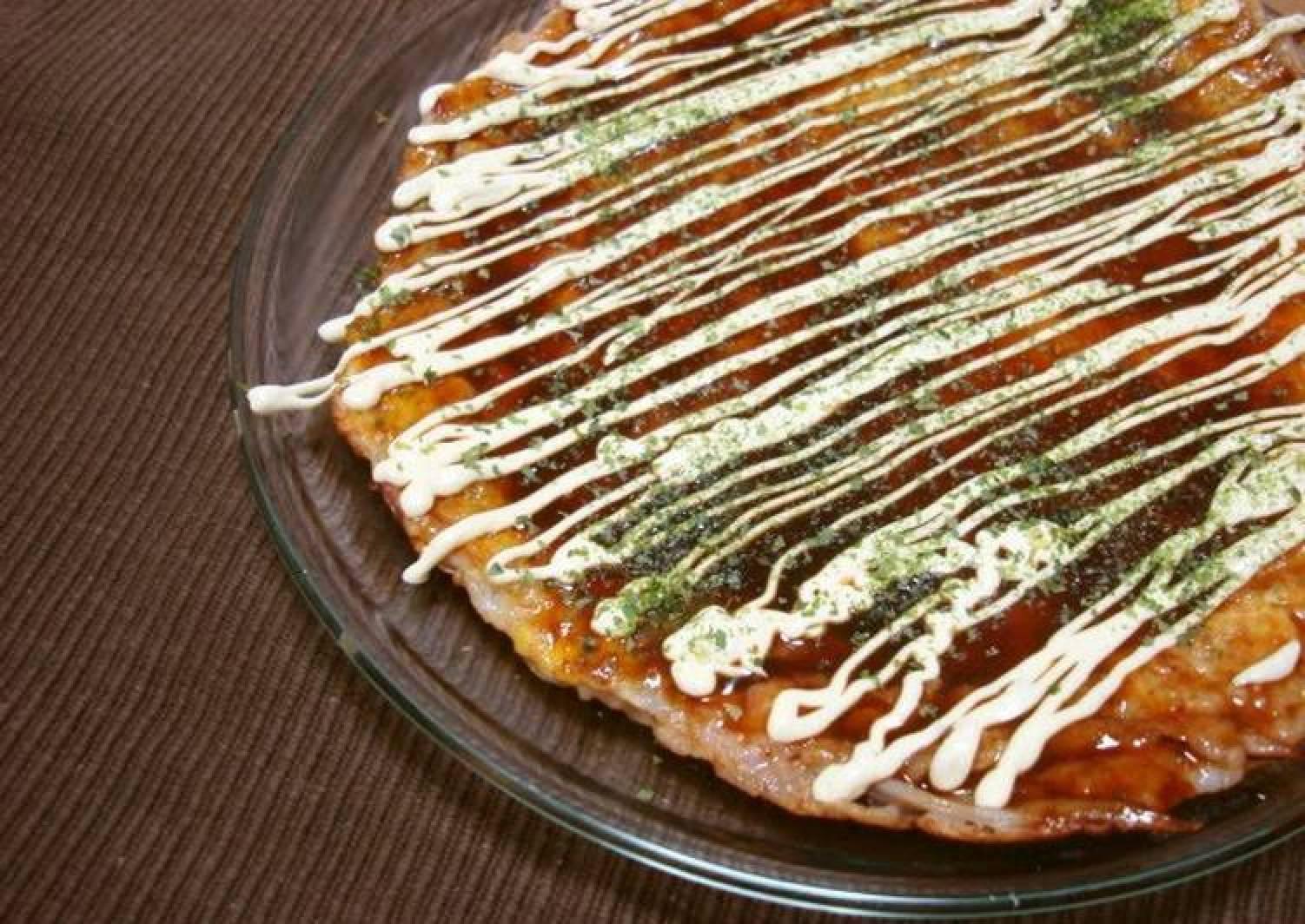 Ika Yaki - Squid Okonomiyaki