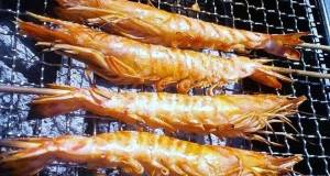 Grilling Salted Shrimp for Barbecues or an Easy Appetizer