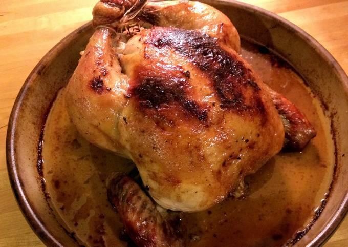 Steps to Make Perfect Garlic & Lemongrass Roast Chicken