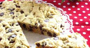 American Chocolate Chip Cookie Cake