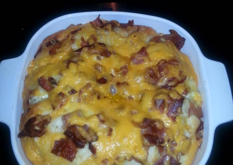 Easiest Way to Prepare Perfect Breakfast Biscuit Casserole
