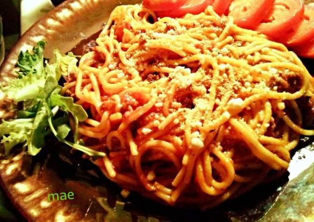 Spaghetti with Simple Sauce