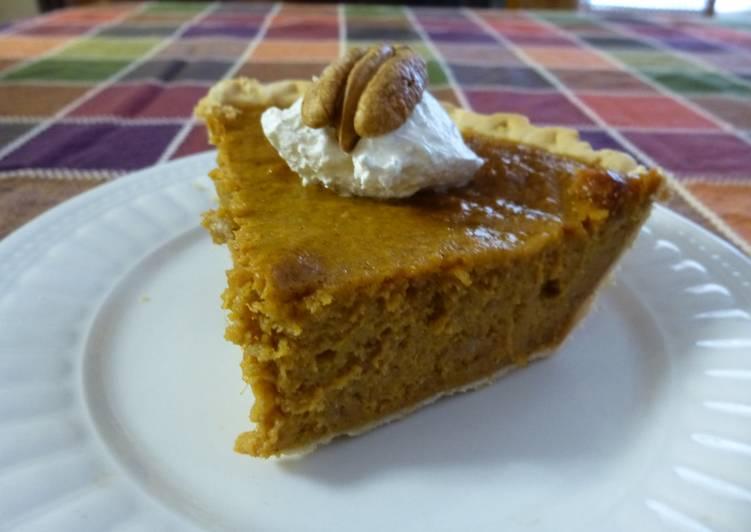 East Texas Pecan Sweet Potato Pie