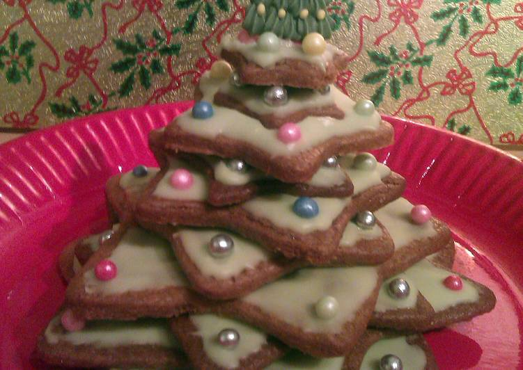Vickys Christmas Tree Stack Cookies Centrepiece Idea