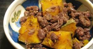 Macrobiotic Adzuki Beans  Kabocha Squash