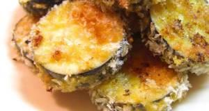 Aubergine Baked in Consomm-Seasoned Panko