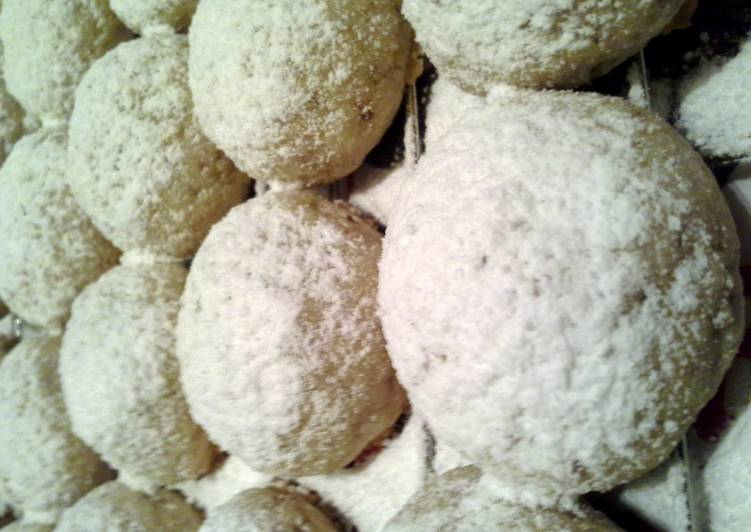 Panamanian Wedding Cookies