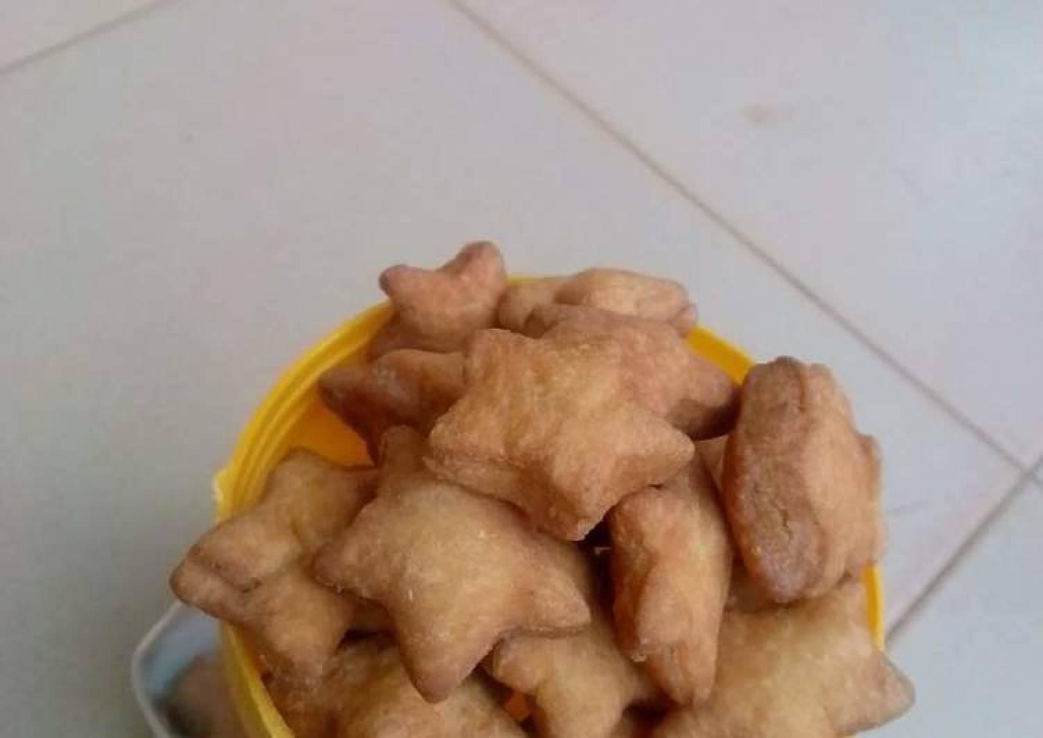 Baked star chinchin