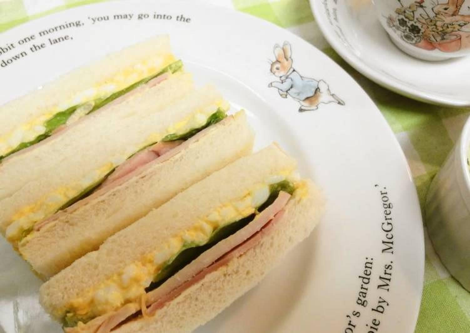 Ham, Egg & Lettuce Sandwiches