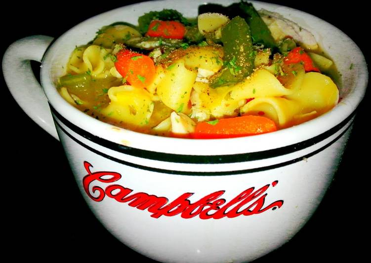 "Mike's, ""Sick Day,"" Chicken Noodle Soup, What Are The Positives Of Eating Superfoods?"