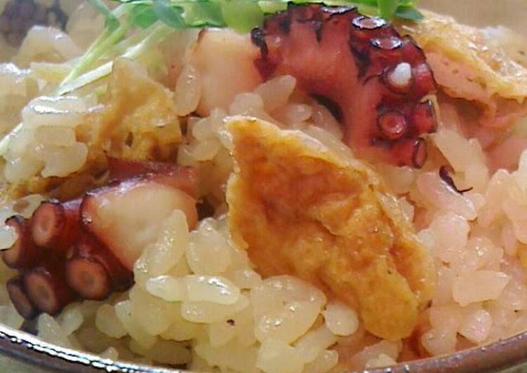 Easy and Delicious Octopus Rice