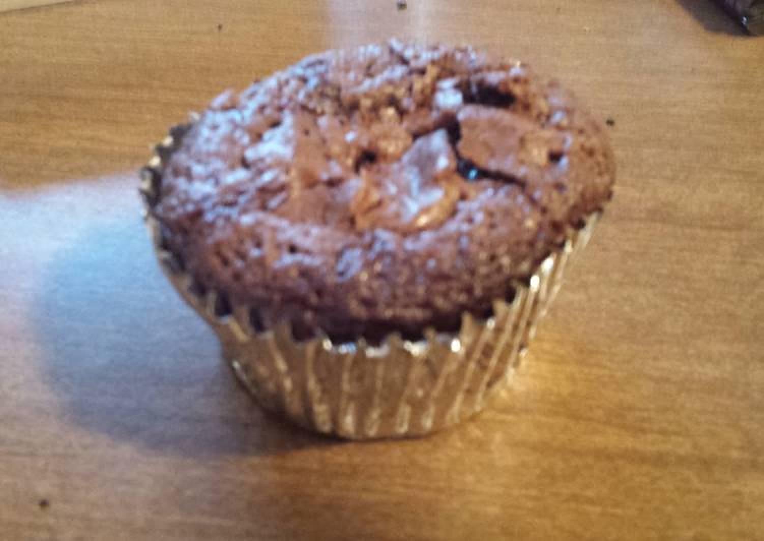 Cookie Dough Brownie Cupcakes