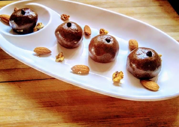 Steps to Prepare Ultimate Multigrain choco nuts laddoo