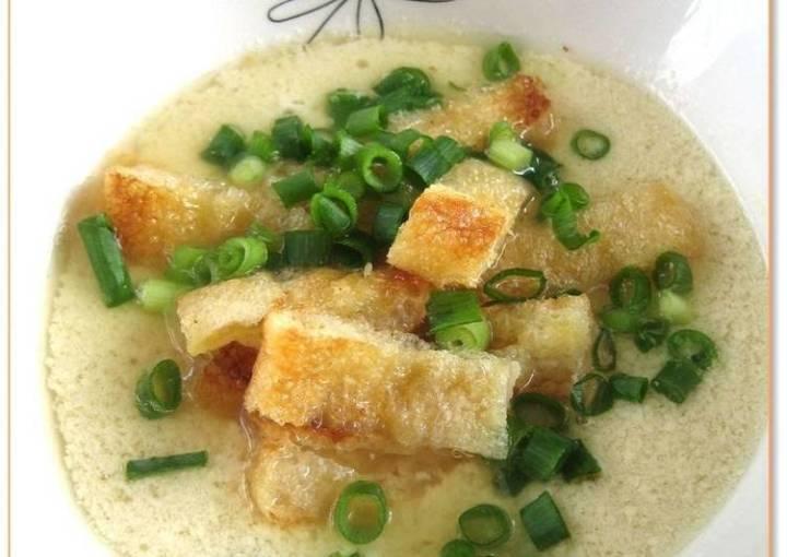 Taiwanese-Style Soy Milk Soup (Xian Dou Jiang)