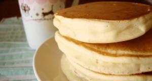 Super Easy Egg-free Pancakes