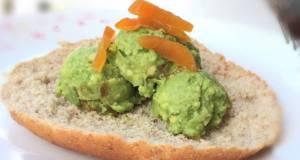 Avocado With Dried Apricot Pita Sandwich