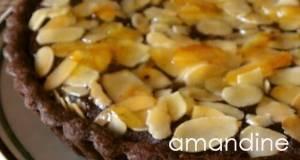 Chocolate Amandine Tart