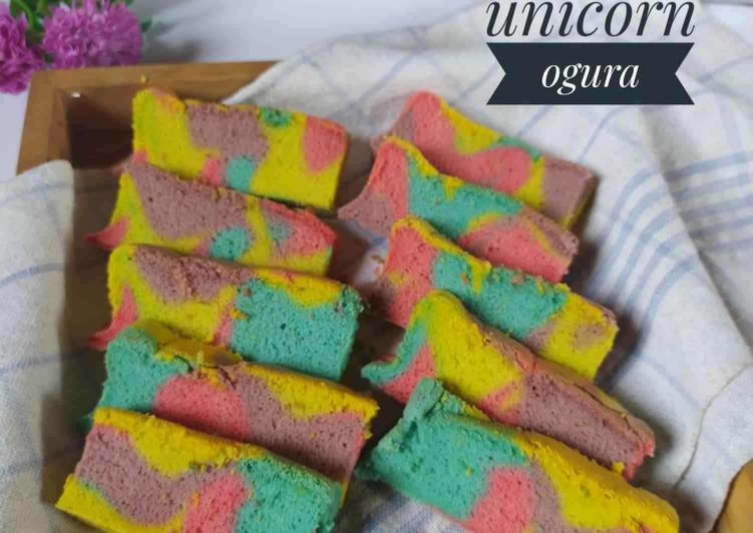 Resep Unicorn Ogura Cake Enak Resep Terbaik