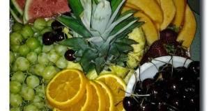 Colorful Fruit Platter
