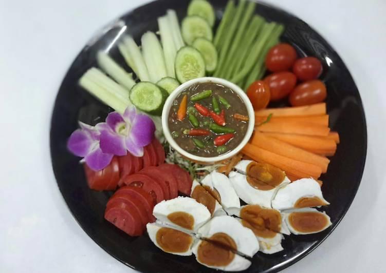 Thai Shrimp Paste Chile Sauce / Naam Prik Kapi