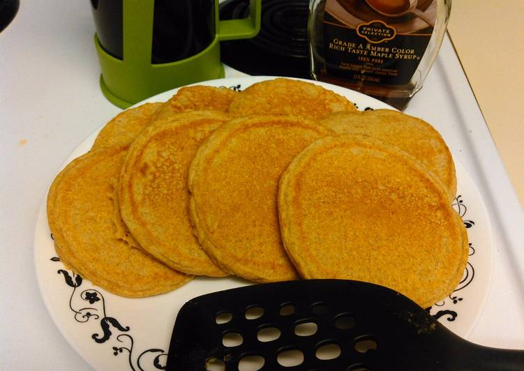 Steps to Make Quick Pancakes (Whole Wheat)
