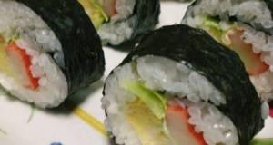 Salad Sushi California Roll