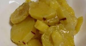 Simple Snack Sweet Potato  Apple Simmer