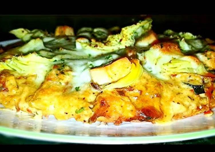 Mikes Gilroy Garlic Chicken Pizza