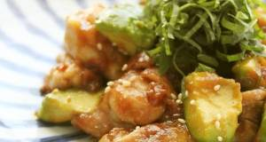 Refreshing Umeboshi-Flavored Teriyaki Chicken  Avocado