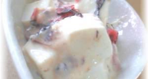 Delicious Tofu with Umeboshi Mayo Sauce