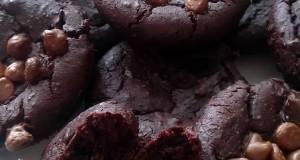 Vickys Flourless Black Bean Brownies GF DF EF SF NF