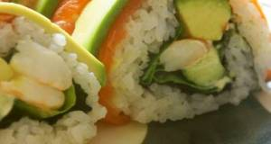 California Rolls perfect for guests