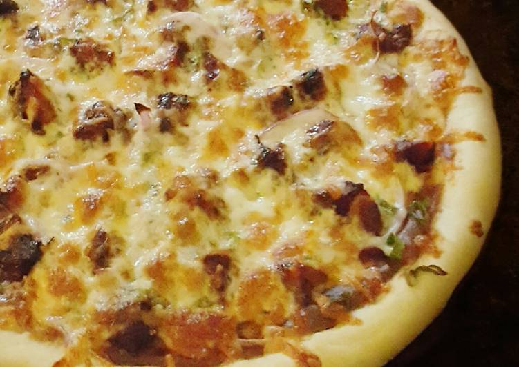 Chicken Satay Pizza, Finding Healthful Fast Food