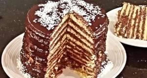 Layer Vanilla Sponge Cake