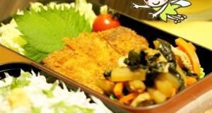 Delicious Kanagawa Cuisine Misaki Harbor Marinated Tuna Katsu Bento