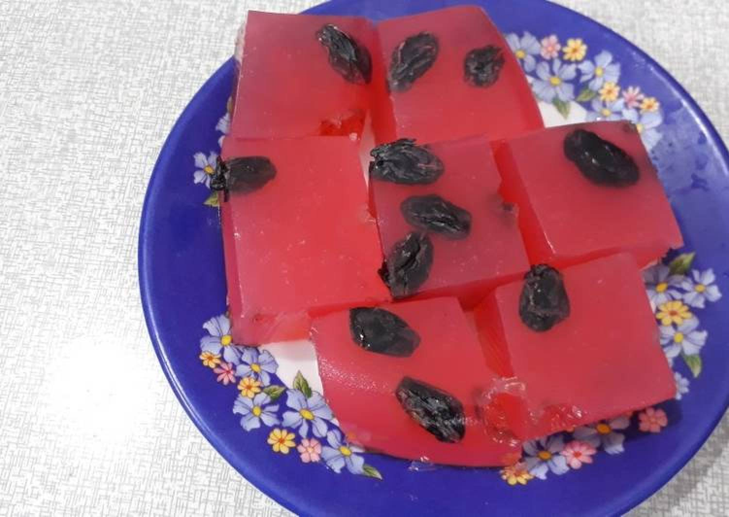 Watermelon agar agar