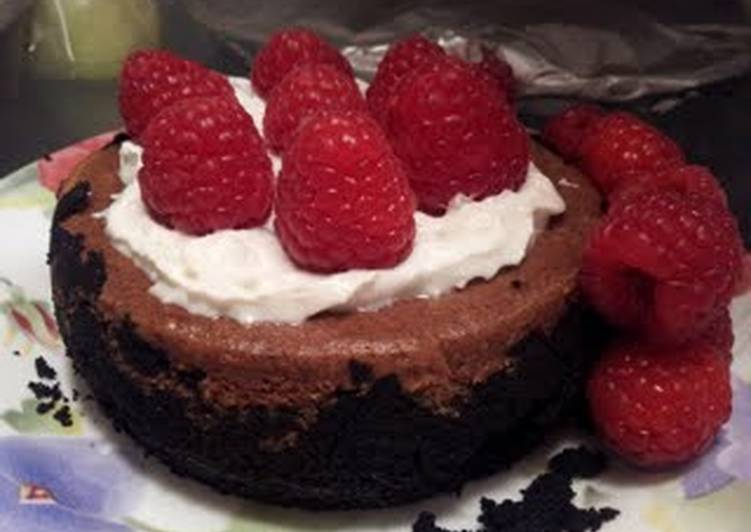 Mini Chocolate Cheesecake for Two