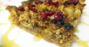 Appple and Cranberry Crumble