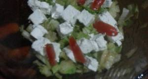 HCG diet meal Greek salad style