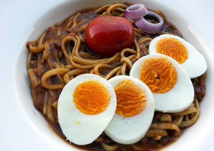 Thai Curry Udon Noodle